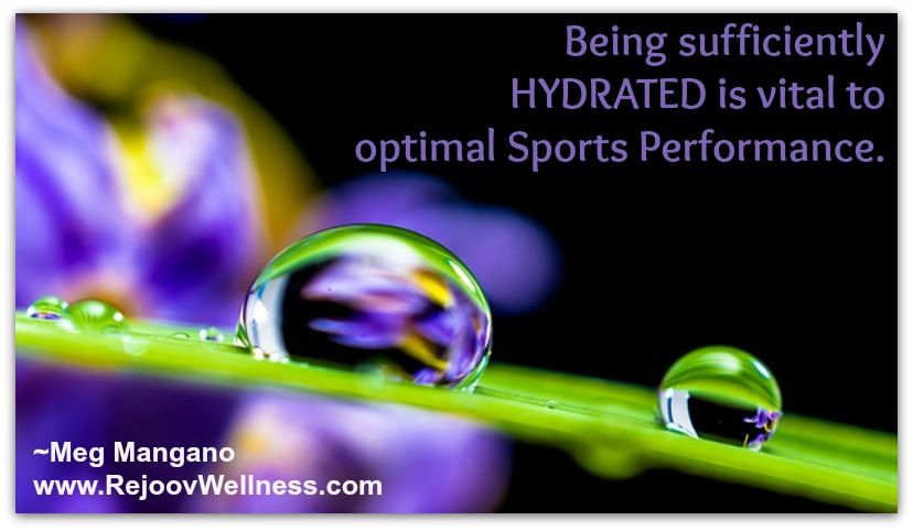 sports performance tip hydration