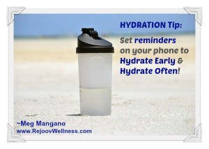 hydrate tips for atheltes