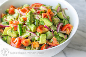 Recipe: Cucumber Tomato Avocado Salad